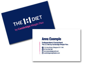 the-one2one-diet-business-cards