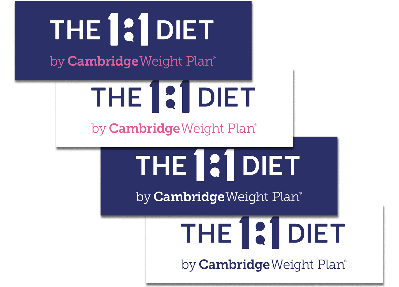 The 1:1 Diet Wall Stickers