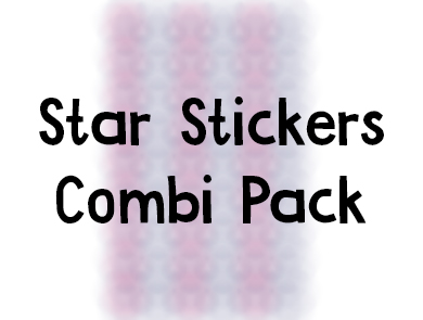 Star Stickers Combi Pack